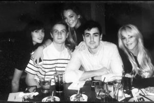 Dina Lohan with her four adorable children.