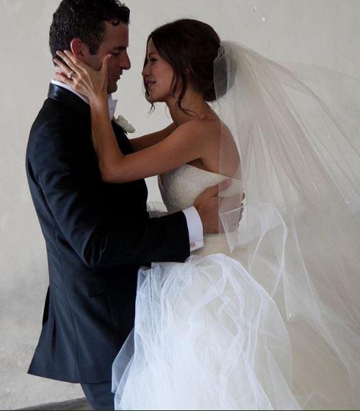 Tammin Sursok and Sean McEwen's wedding ceremony.