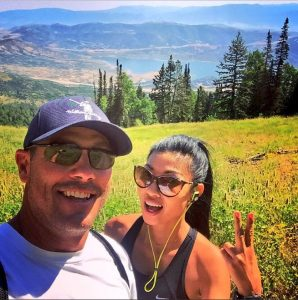 Chris Jacobs and his lover, Ivy Teves spending quality time together.