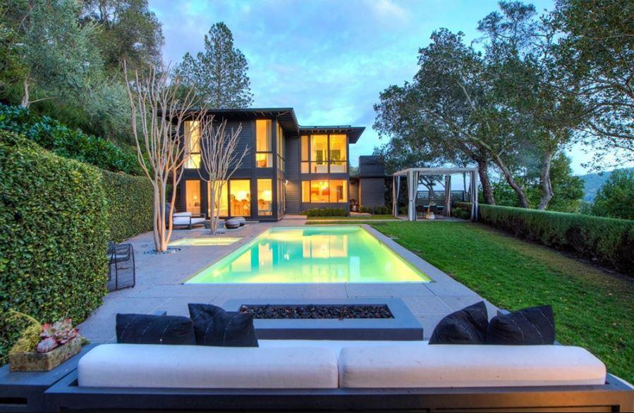 Gavin Newsom's Kentfield, California house.