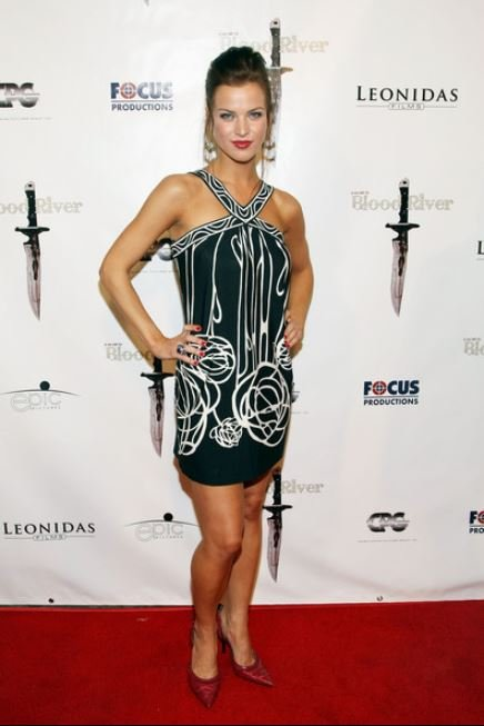 Lisa Jay arrived at the Premiere of Blood River at the Egyptian Theatre on 24th March 2009 in Los Angeles, California.
