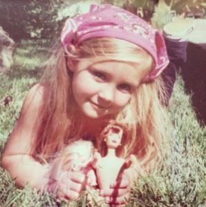 Childhood photo of Ava Elizabeth Sambora.