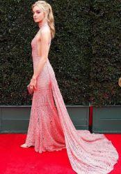 Olivia Rose Keegan arrived at the Daytime Emmy Award red carpet in The Pasadena Civic, in Pasadena, California on 1st May 2018.