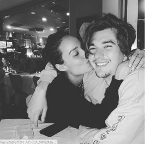 Chloe Bartoli and her boyfriend Cheche Chretien