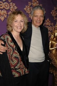 David with his wife Claudeis