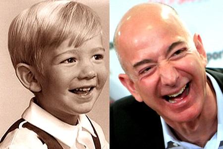 Jeff Bezos childhood image