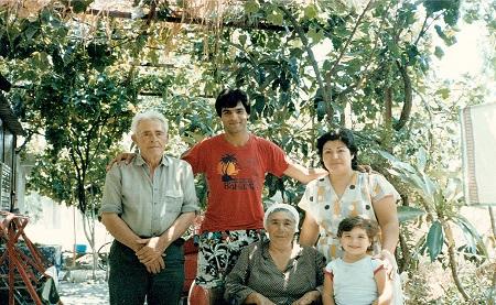 John Kiriakou with his grandfather's family