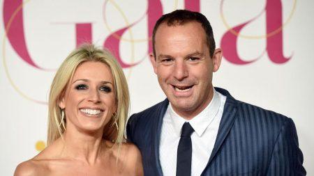Lara Lewington With Husband