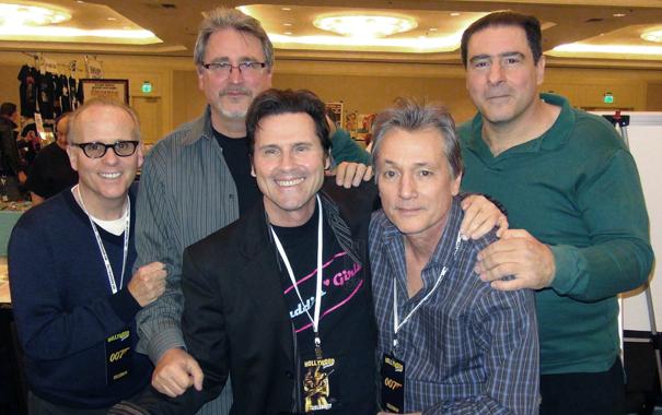Tony with the cast of Porky