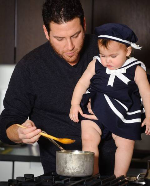 Scott with his daughter Ayla