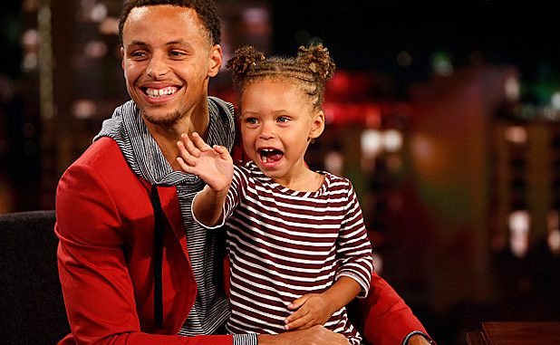 Stephen Curry's Daughter Riley Curry.
