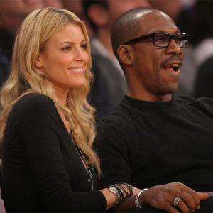 Paulette with her ex boyfriend Eddie Murphy