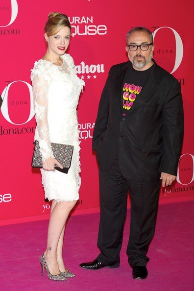 Carolina Bang and her husband Álex de la Iglesia in the red carpet