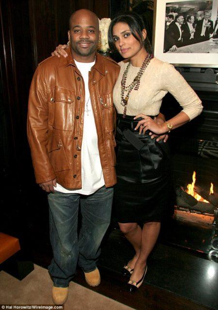 Damon Dash and his wife Rachel Roy