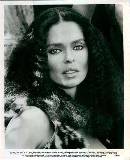 Barbara Bach in Caveman (1981)