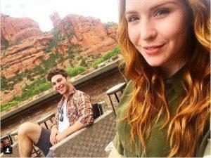 Camryn Grimes and her boyfriend enjoying their vacation in Sedona, Arizona.