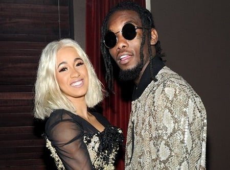 Offset and his wifeCardi B