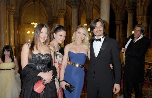 Ornella Muti and her children