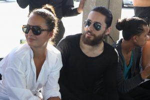 Photo of Chloe Bartoli with Jared Leto
