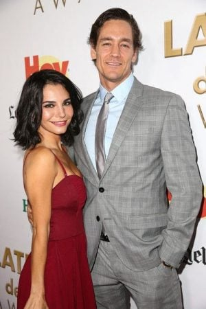 Cory Brusseau and his wife Martha Higareda
