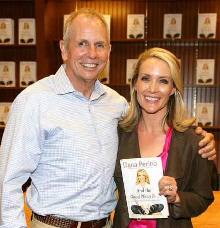 Peter McMahon and his wife Dana Perino