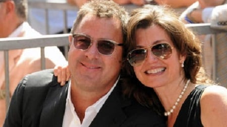 Vince Gill with his wife Janis Oliver