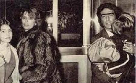Barbara Goldbach with Ex-husband Count Augusto Gregorini,