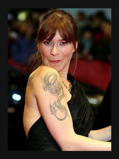 Franka Potente tattoo