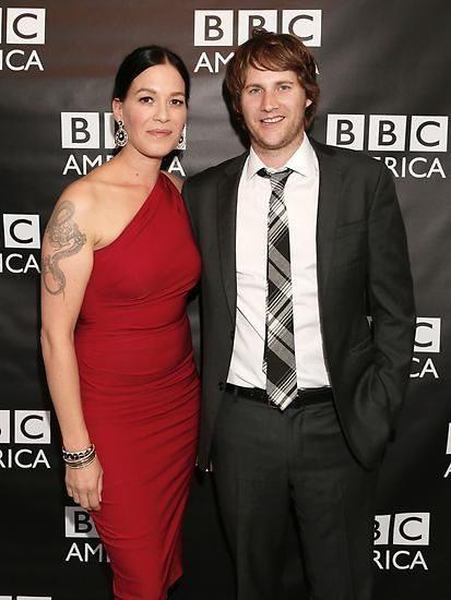 Franka Potente and her husband Derek Richardson