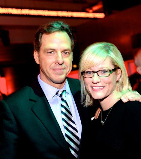 Jennifer Marie Brown and her husband Jake Tapper.