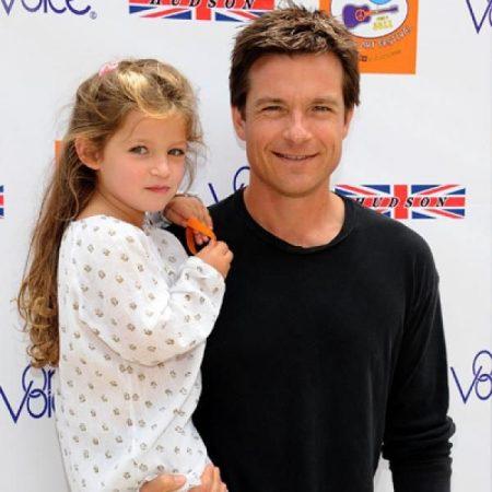 Francesca Nora Bateman with her father Jason Bateman