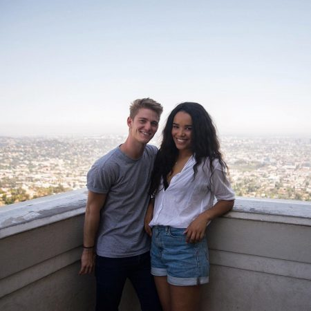 Nico Greetham and his girlfriend enjoying vaccation
