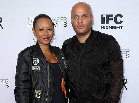 Melanie Janine Brown and her former partner Stephen Belafonte