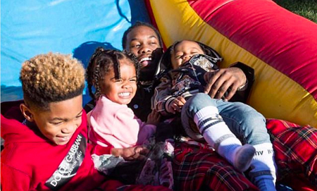 Offset and his children