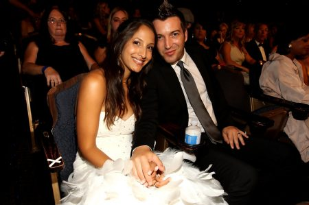 Christel Khalil and Stephen Hensley attend the 37th Annual Daytime Entertainment Emmy Awards held at the Las Vegas Hilton