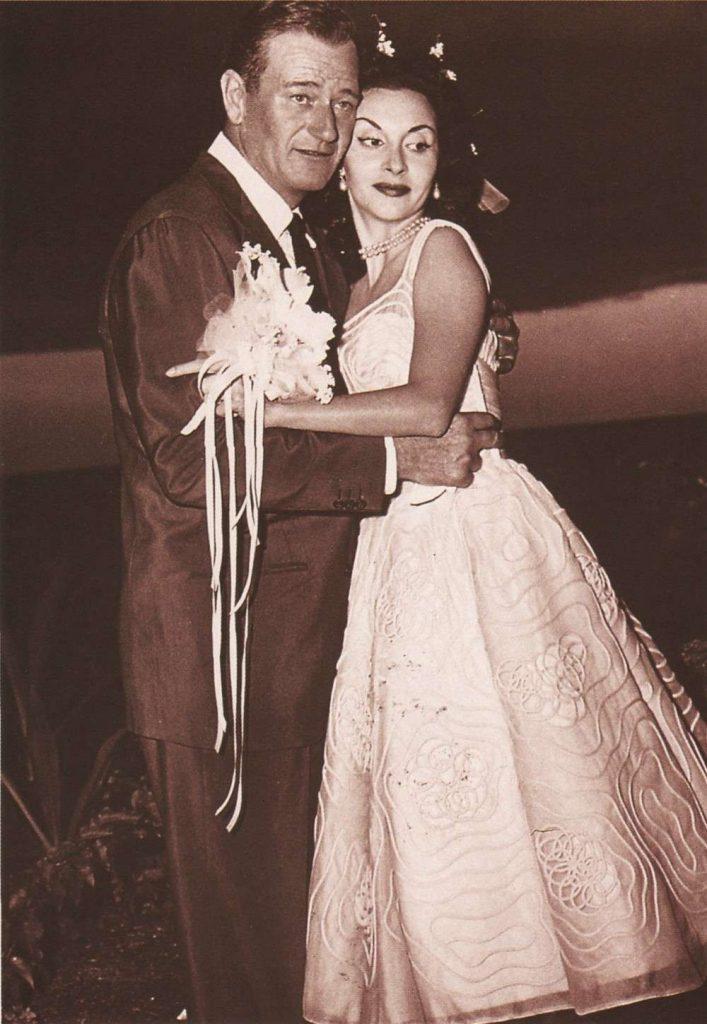 Pilar Pallete and her husband John Wayne