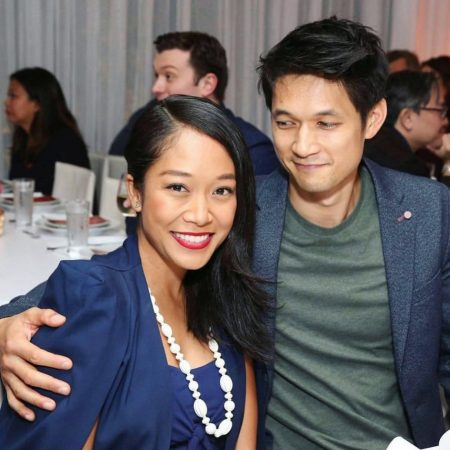 Shelby Rabara and her husband Harry Shum Jr.