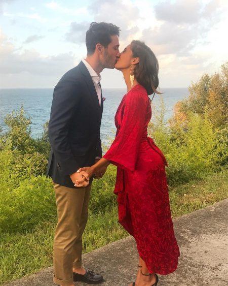 Christel Khalil and her boyfriend Sam Restagno