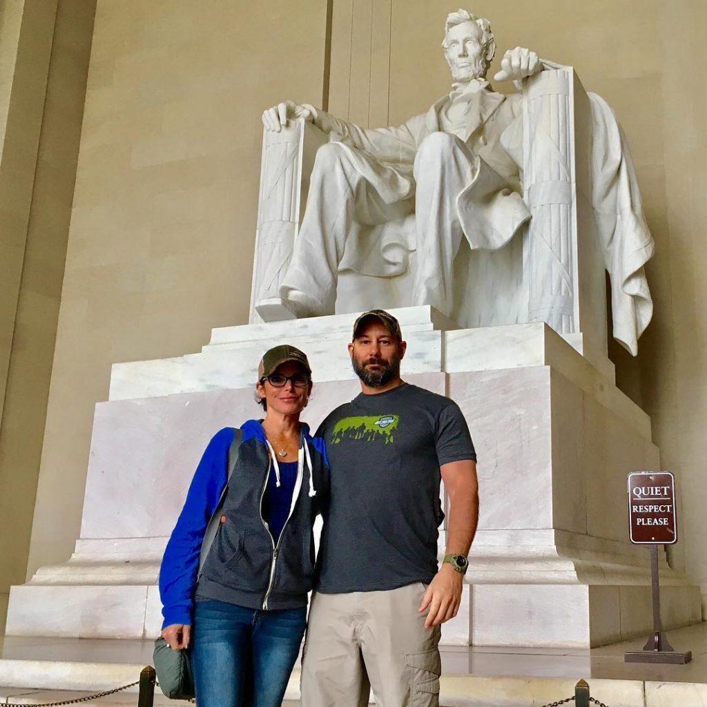 Lesli and her partner Scott