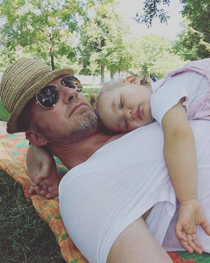 Lauren husband Erik and their daughter
