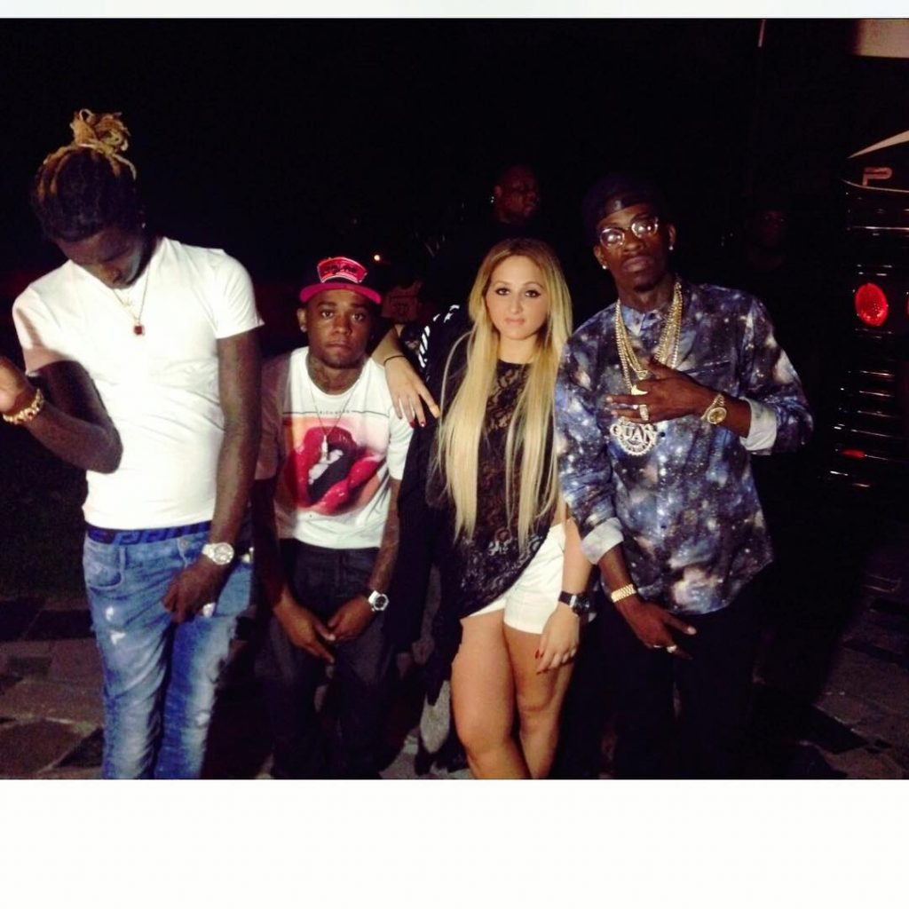 Jojo with her Clients