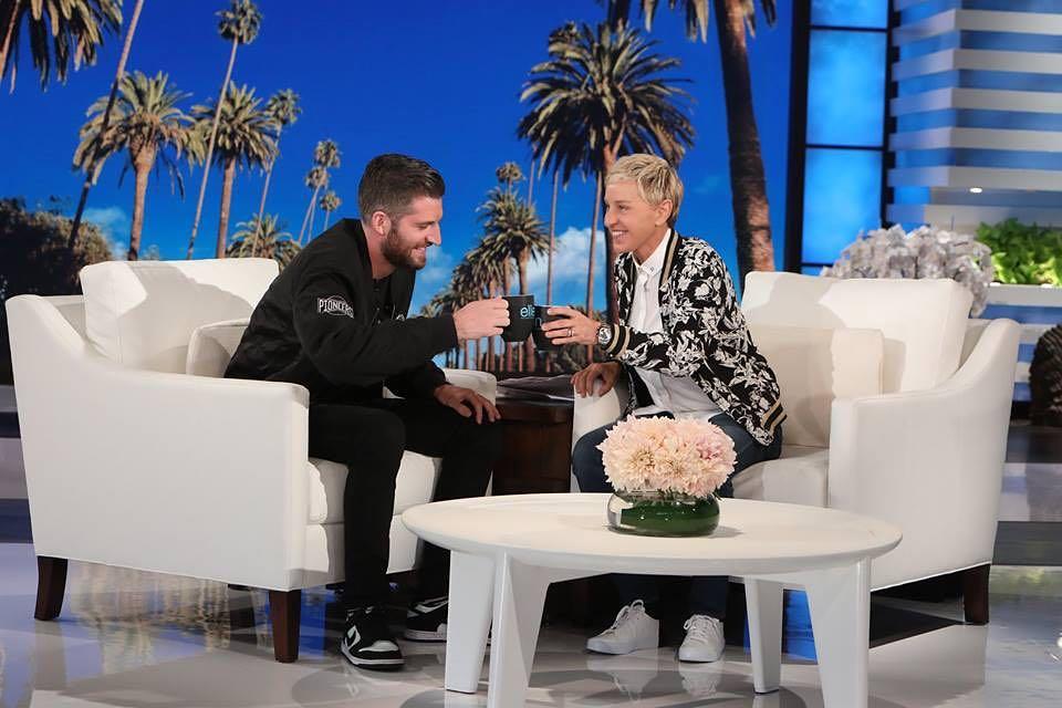 Harry in Ellen Show
