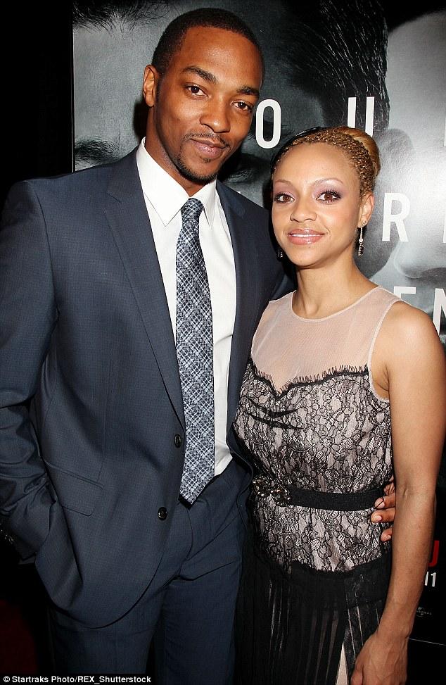 Sheletta with her husband, Anthony Mackie