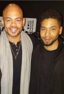 Jussie with Anthony