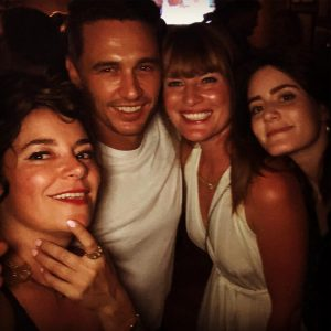 Jamie with her friends