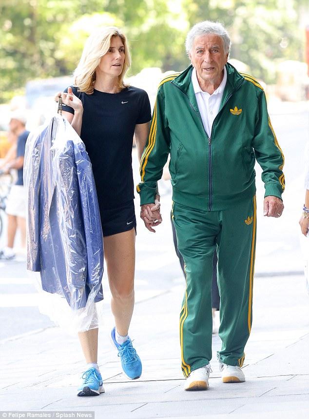 Susan with his husband, Tony