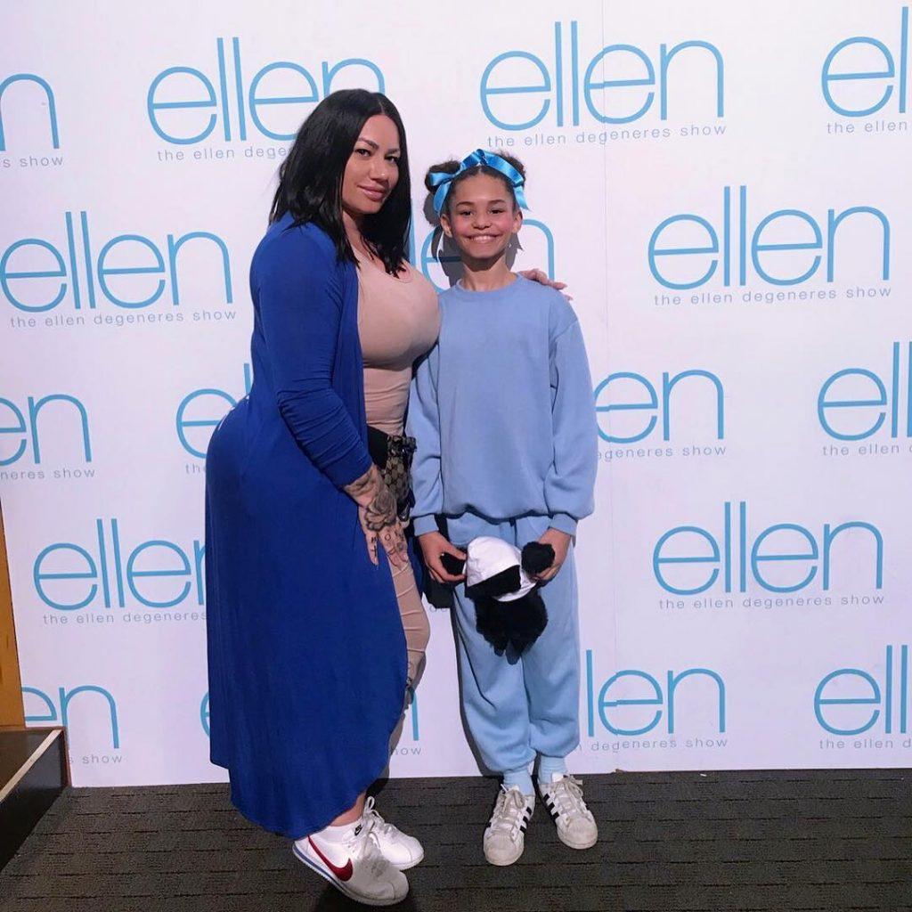Elke with her daughter, Jayla