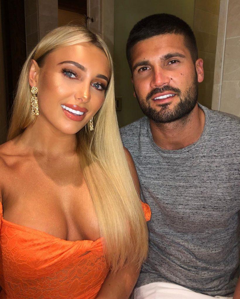 Amber with Dan Edgar