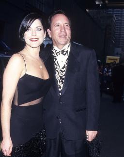 Lesli with her ex-husband, Mark Sterling