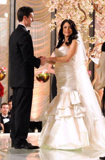 Bethenny Frankel and Jason Hoppy's wedding ceremony.